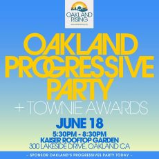 "And The Winner Is... MG Honored With Oakland Townie Award ""Eco Warrior"""